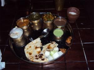 Nourriture typique du Pendjab