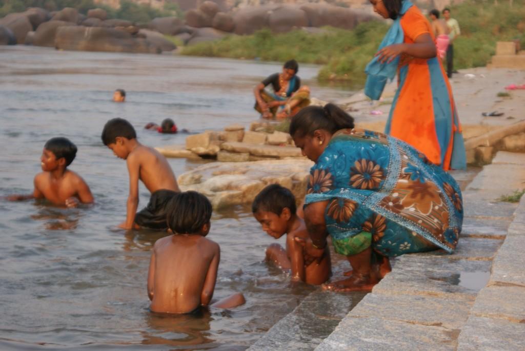 La vie de famille des ghats